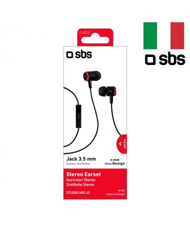 ( ✔✔✔ BU AY ÇOK POPÜLER ) SBS-09185 Studio Mix40 Mikrofonlu Kulaklık ( Pratik Kullanım, İtalyan Dizayn, Kulağa Tam Uyum - Konforlu Kullanım )