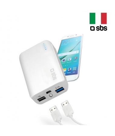 SBS-10013 10000 Powerbank ( 2 USB Bağlantı Noktası )