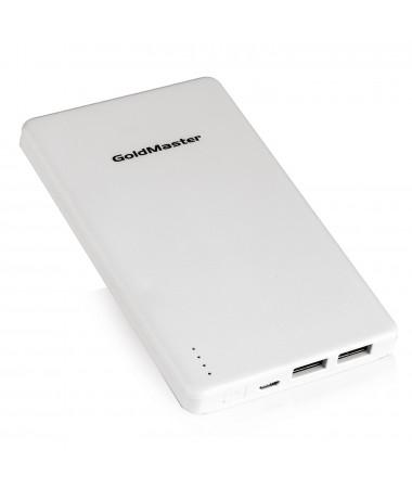 ( TÜKENDİ! ) PB-10000 Taşınabilir Batarya/Powerbank ( Ergonomik ve Süper ince ( 7,5mm ) / Aynı Anda 2 Telefon Şarj Edebilme / *3 Kez Full Dolum! / Tüm Tablet ve Akıllı Telefon ile Uyumlu )