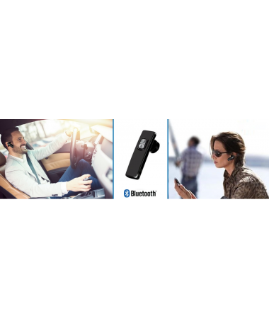 HP-1205 Bluetooth Kulaklık + CF-255 BT Transmitter - Otomobiliniz İçin Benzersiz Bir Set!