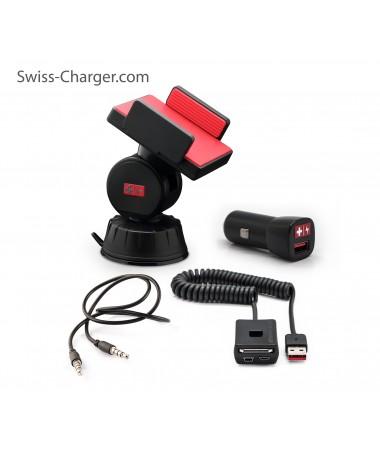 Swıss Charger Sca-30001 Unıv.Araçiçi Tlf.Tutucu Tk