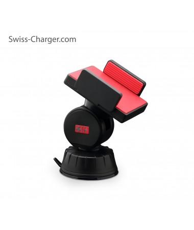 Swiss Charger Sca-30002 Araç İçi Telefon Tutucu ( 360° her yöne derece dönebilir )