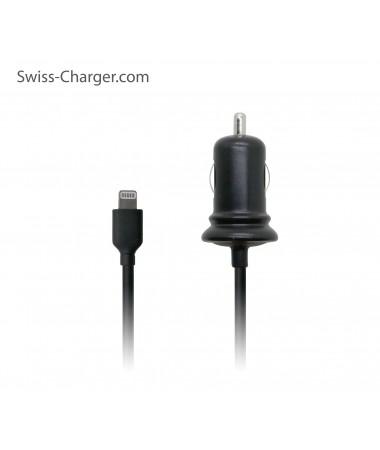 Swiss Charger Sch-30024 Iphone Araç Şarj Kablosu  (  12V-24V çakmak şarjı uyumlu )