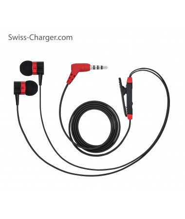 Swiss Charger - SCS-20004 (Su Geçirmez ve Ultra Dayanıklı Kulaklık!)