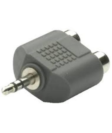 Vivanco 33702-Audıo Input Adaptör 3,5Mm/2Xrca