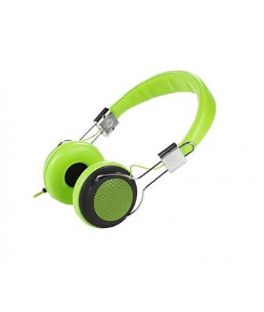 Vivanco 34879-Street Style X-Bass Kulaklık-Yeşil