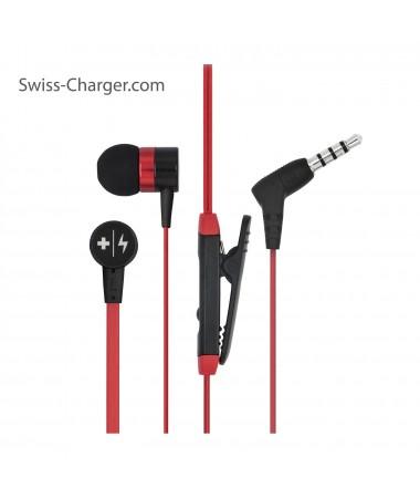 Swiss Charger - SCS-20003 (Su Geçirmez ve Ultra Dayanıklı Kulaklık!)