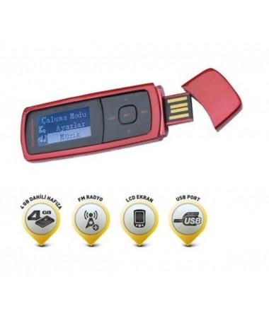 ( TÜKENDİ! ) GM-298 Mp3 Müzik Çalar ile İnternetiniz Olmadığında Müzik Keyfiniz Sizinle! ( Arabanızda, spor yaparken, yürüyüşte, dışarda müzik keyfiniz yarım kalmasın.. )