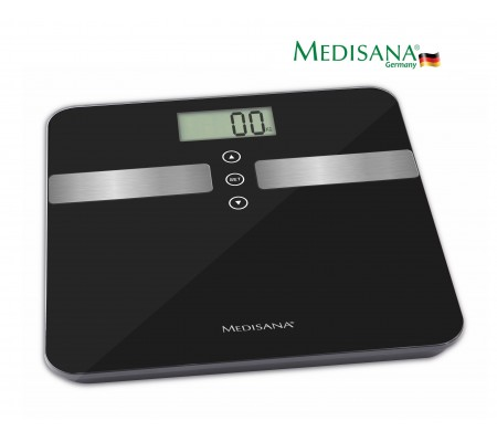 Medisana 48437 Vücut Analiz Baskülü ile Daha Sağlıklı Günler! ( Kas Kütlesi, Yağ & Su Oranı, Kemik Kütlesi ve Vücut Ağırlığı Ölçümü Bir Arada! )