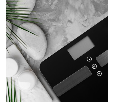 ( TÜKENDİ! ) Medisana 48437 Vücut Analiz Baskülü ile Daha Sağlıklı Günler! ( Kas Kütlesi, Yağ & Su Oranı, Kemik Kütlesi ve Vücut Ağırlığı Ölçümü Bir Arada! )