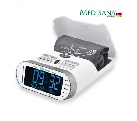 Medisana 51097 Koldan Tansiyon Ölçer / FDA & Klinik Onaylı ( Büyük-küçük tansiyon, Nabız, Radyo, Tarih, Saat, Aritmi göstergesi, Oda Nem Oranı Ölçümü )