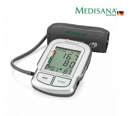 Medisana 51134 Kol Tipi Türkçe Konuşan Dijital Tansiyon Ölçme Cihazı ( Diagnostik Fonksiyonlu Hassas Tansiyon Ölçümü / FDA & Klinik Onaylı / Düzensiz Nabzı Algılama ( Aritmi ) )