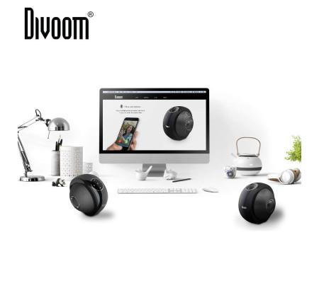 Divoom Atom Bluetooth Hoparlör ( Divoom Kalitesi ile Tanışın! ) ( Siyah )