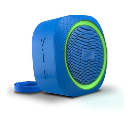 Divoom AirBeat 30 Bluetooth Hoparlör  ( Su geçirmez Divoom Kalitesi! Renk Değiştiren Özel Dizayn ) ( Mavi )