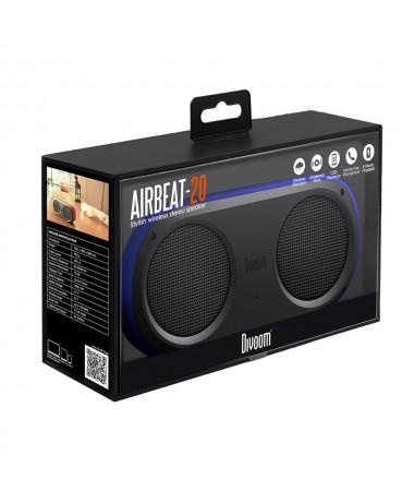Divoom AirBeat 20 Bluetooth Hoparlör Su Geçirmez / Çift Hoparlör! / Tüm Cihazlar ile Uyumlu ( Divoom Kalitesi ile Tanışın! ) ( Mavi )
