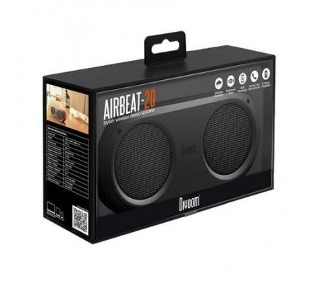 Divoom AirBeat 20 Bluetooth Hoparlör Su Geçirmez / Çift Hoparlör! / Tüm Cihazlar ile Uyumlu ( Divoom Kalitesi ile Tanışın! ) ( Siyah )
