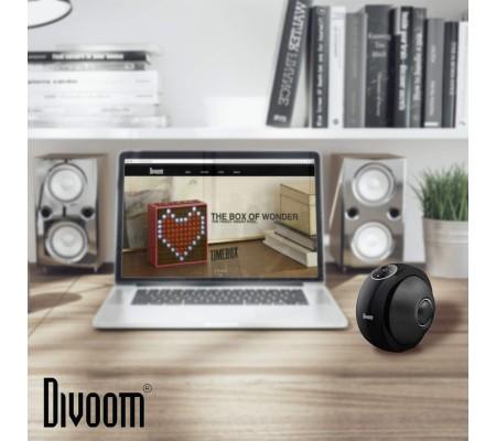 ( TÜKENDİ! ) Divoom Atom Bluetooth Hoparlör ( Divoom Kalitesi ile Tanışın! ) ( Siyah )