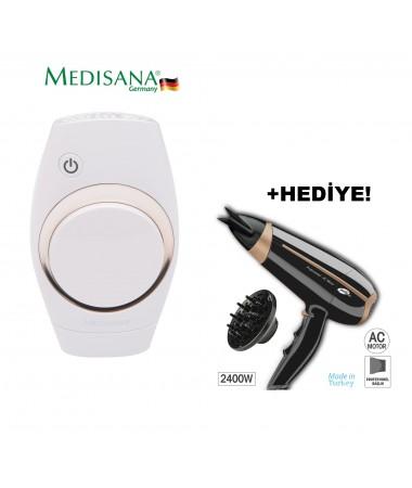 Medisana Ipl-840 Lazer Epilasyon Cihazı + ProStyler Saç Kurutma Makinesi Hediye! ( Yeni Teknoloji, Geliştirilmiş Model! Evinizde Lazer Teknolojisi! Yedek Lazer Kartuş Hediye! Yüz, Bacaklar, Kollar, Koltuk Altı Ve Bikini Bölgesi Için Uygun! )