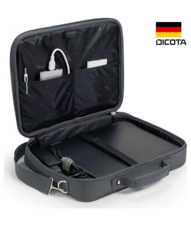 """Dicota D30915 17.3"""" Gri Notebook Çantası ( Almanya Dicota Özel Seri Notebook & Evrak Çantası )"""