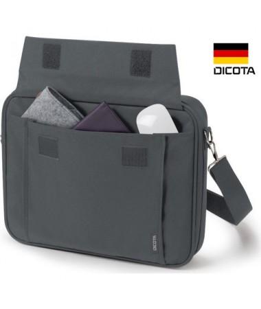 """( TÜKENDİ! ) Dicota D30915 17.3"""" Gri Notebook Çantası ( Almanya Dicota Özel Seri Notebook & Evrak Çantası )"""