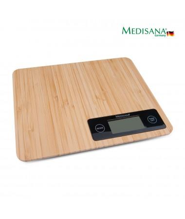 Medisana 48430 Bambu Mutfak Baskülü ( Antibakteriyel Bambu Malzeme / Suyun ve Sütün Hacmini Hesaplayabilme! )