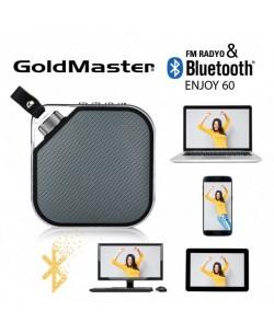 Bluetooth Hoparlör & Mp3 Oynatıcı  - Tüm Cihazlar ile Uyumlu! Telefon ile görüşebilme / Müzik Dinleyebilme ( Siyah )