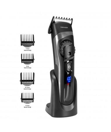 ( TÜKENMEK ÜZERE ) GM-8121 Roxy Saç ve Sakal Şekillendirme Makinesi ( Kablolu ve Kablosuz Kullanım, Ayarlanabilir Taraklar ve IPX6 Su geçirmezlik Sertifikası )