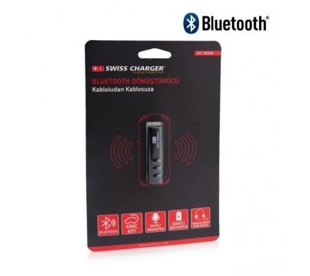 Swiss Charger Bluetooth Araç Kiti! ( Araç Kiti ile Yolculuğunuz Daha Konforlu! Kablosuz Olarak Müzik Dinleyebilme / Bluetooth Ile Telefon Görüşmesi Yapabilme! )