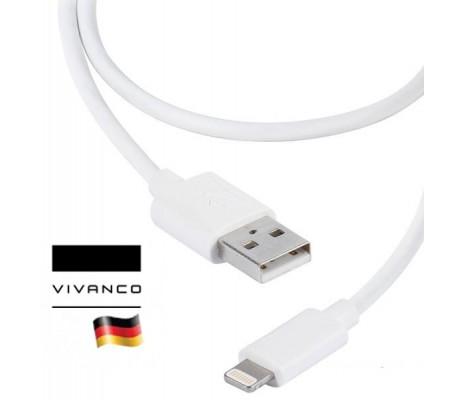 Vivanco 35484 iPhone Şarj ve Data Kablosu (  Alman Vivanco Kalitesi! 1,5 M Uzunluk, MFi Onaylı! )