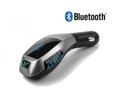 ( TÜKENDİ! ) X7 FM Transmitter Araç Kiti ( X7 ile Yolculuğunuz Daha Konforlu! Kablosuz olarak müzik dinleyebilme / Bluetooth ile telefon görüşmesi yapabilme! )