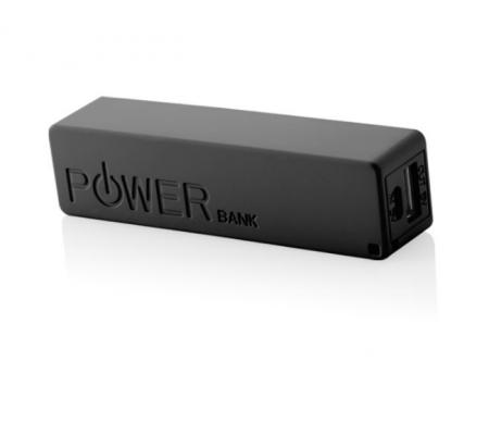 Pb-2600 Taşınabilir Batarya/Powerbank ( Siyah ) ( Hafif ve ergonomik tasarım )