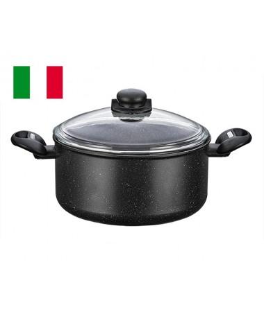 MONETA KRATOS DERİN TENCERE 24 CM ( İtalyan ve Yeni Sezon Granit Serisi )