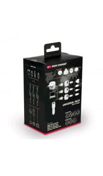 Swisscharger Universal Pack Seyahat Seti Sch 10002 ( Seyahat adaptörü - Eu, Uk, Aus, Usa/Japan soketleri dahil )