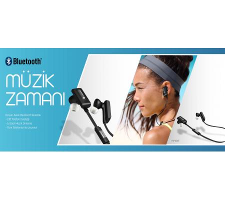 Boyun Askılı Bluetooth Kulaklık - Son 131 Adet ( Çift Telefon Desteği - 3,5 Saat Müzik Dinleme / Tüm Cihazlar ile Uyumlu! )