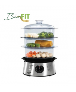 BioFit Buharlı Pişirici ( Hem Lezzetli Hem Sağlıklı! - Suyun Sağlığı ile Yemeklerinizi Hazırlayın! - Sebze, Balık & Tavuk BioFit ile Daha da Lezzetli! )
