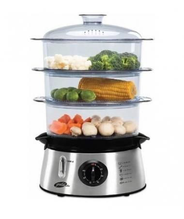 BioFit Buharlı Pişirici ( Hem Lezzetli Hem Sağlıklı! - Suyun Sağlığı ile Yemeklerinizi Hazırlayın! )