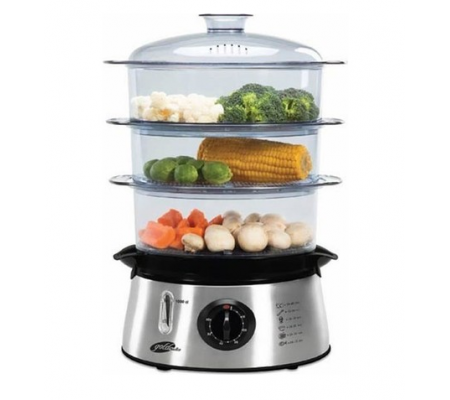 ProBioFit Buharlı Pişirici ( Hem Lezzetli Hem Sağlıklı! - Suyun Sağlığı ile Yemeklerinizi Hazırlayın! - Sebze, Balık & Tavuk BioFit ile Daha da Lezzetli! )