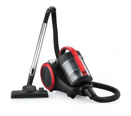 GM-7550 BLACK Elektrikli Süpürge ( Üstün Temizleme Performansı! ) Kırmızı / Siyah