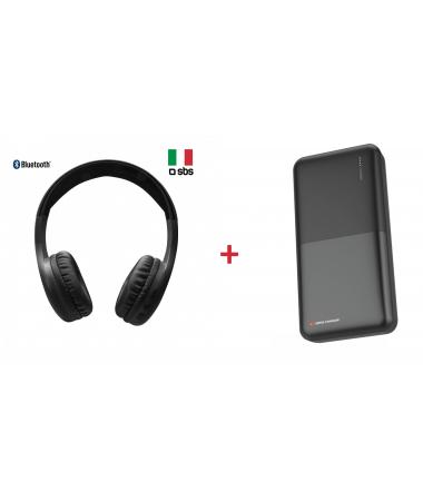 ( Çok Yakında Yeniden Stokta! ) SBS-64986 Kafa Üstü Bluetooth Kulaklık + Swiss Charger 20000 Powerbank  ( İtalyan SBS ve İsviçre Swiss Kalitesi Bir Arada Sizlerle.. )