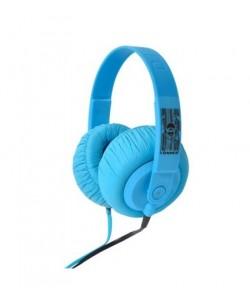 İdance Sdj-550 - Dış Ses Geçirmez - Kulaklık - Mavi (Rengarenk Renk Seçenekleri İle Müziğin Keyfine Varın !)