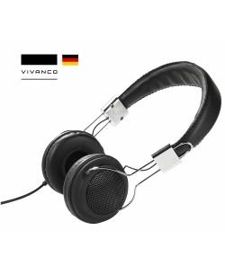 VIVANCO COL 400 - Street Style Headphones ( Siyah )  / Kablolu ( Almanya Özel Seri / Özel Tasarım & Üstün Ses Kalitesi! )