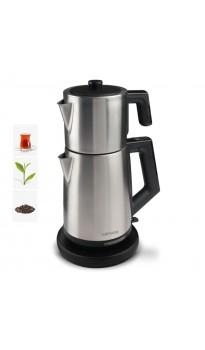 ( ✔✔✔ BU AY ÇOK POPÜLER )  ( YENİ! ) PT-3248 ProFlavor Çay Makinesi! Yeni Trend!   ( EN ÇOK TERCİ EDİLEN! )  ( Özel Dizayn, 2 LT Hazne ve 1 LT Demlik Kapasitesi & Damlatma Yapmayan Özel Ağız Tasarımı )