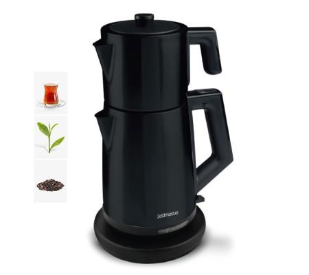 ( TÜKENDİ! ) PT-3248S ProFlavor Çay Makinesi! Yeni Trend! ( Özel Dizayn, 2 LT Hazne ve 1 LT Demlik Kapasitesi & Damlatma Yapmayan Özel Ağız Tasarımı )