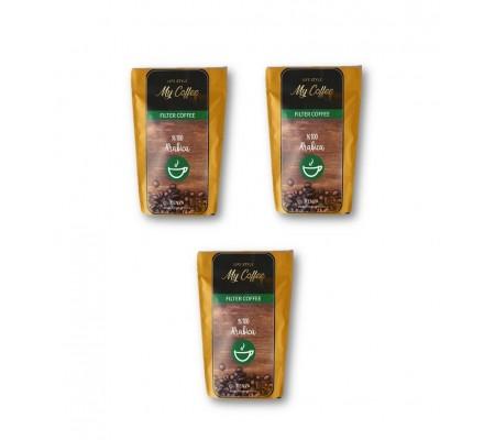 100GR MyCoffee Gold Arabica Filtre Kahve  X 3 ( Premium Özel Lezzet ! French Press & Ev tipi makine kullanımına uygun )