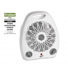 PH-3209 ProHeat Fanlı Isıtıcı ve Soğutucu ( Yeni Seri - Yeni Teknoloji / Yazın Sıcağında Soğutucu - Kışın Soğuğunda Isıtıcı Fan Özelliği! )