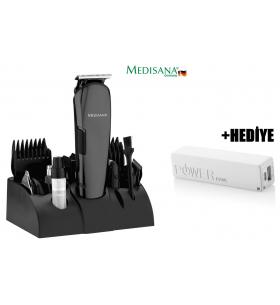 Medisana MD-7801 Play Erkek Bakım Seti + Powerbank HEDİYE! ( 12 fonksiyonlu erkek bakım seti. 12in1 )