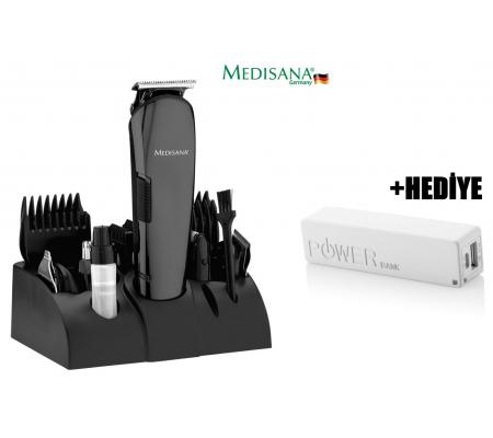 Medisana MD-7801 Play Erkek Bakım Seti + PB-2600 Powerbank HEDİYE!  -  ( 12 fonksiyonlu erkek bakım seti. 12in1 ve 4 Adet rehber tarak (3, 6, 9, 12mm) )