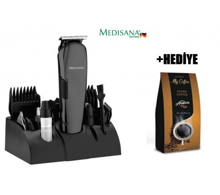 Medisana MD-7801 Play Erkek Bakım Seti + Filtre Kahve HEDİYE! ( 12 fonksiyonlu erkek bakım seti. 12in1 )