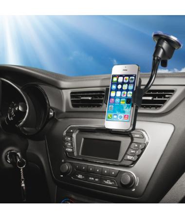 Vivanco 35465-Car Holder Bıg Vv Araçiçi Telefon Tutucu ( Hem Araç camına hemde havalandırma deliklerine monte edilebilir )