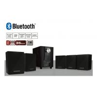 HOME61 Bluetooth 5+1 Mini Özel Hoparlör Seti / Kablolu Optimus Kulaklık Hediye! ( Yeni Seri & Yeni Teknoloji ! Gerçekçi bass efekti için ahşap kabinli subwoofer )